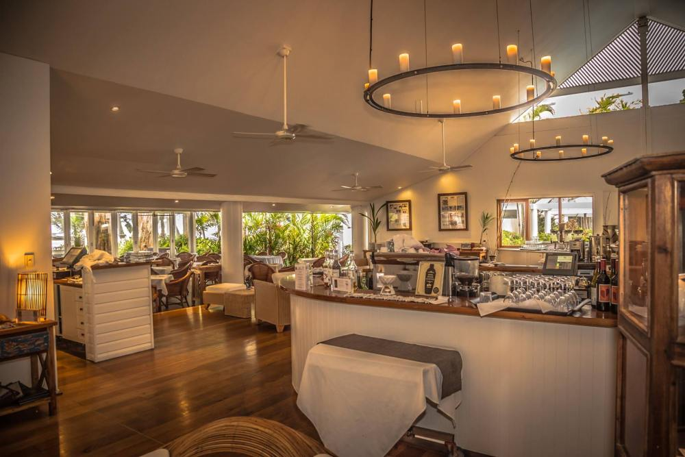 Speisesaal, Reef House & Spa Palm Cove, Australien Rundreise