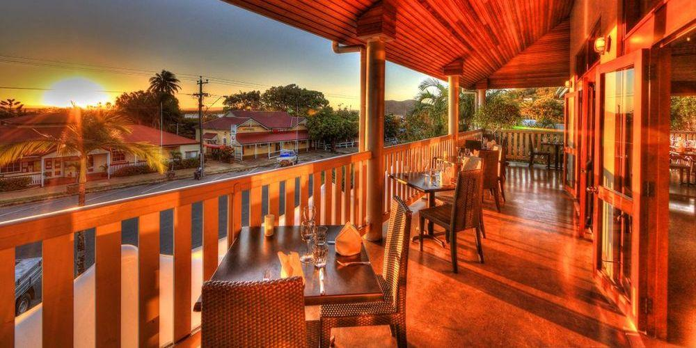 Balkon, The Sovereign Resort Hotel, Cooktown, Australien Rundreise