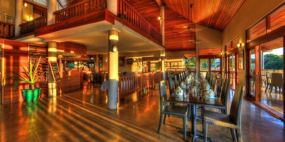 Speisesaal, The Sovereign Resort Hotel, Cooktown, Australien Rundreise