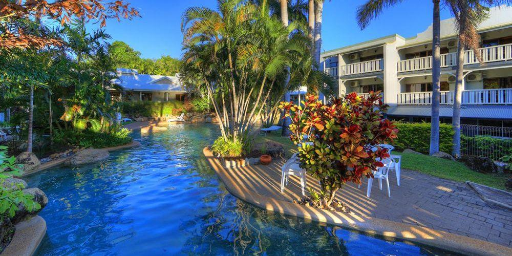 Poolanlage, The Sovereign Resort Hotel, Cooktown, Australien Rundreise