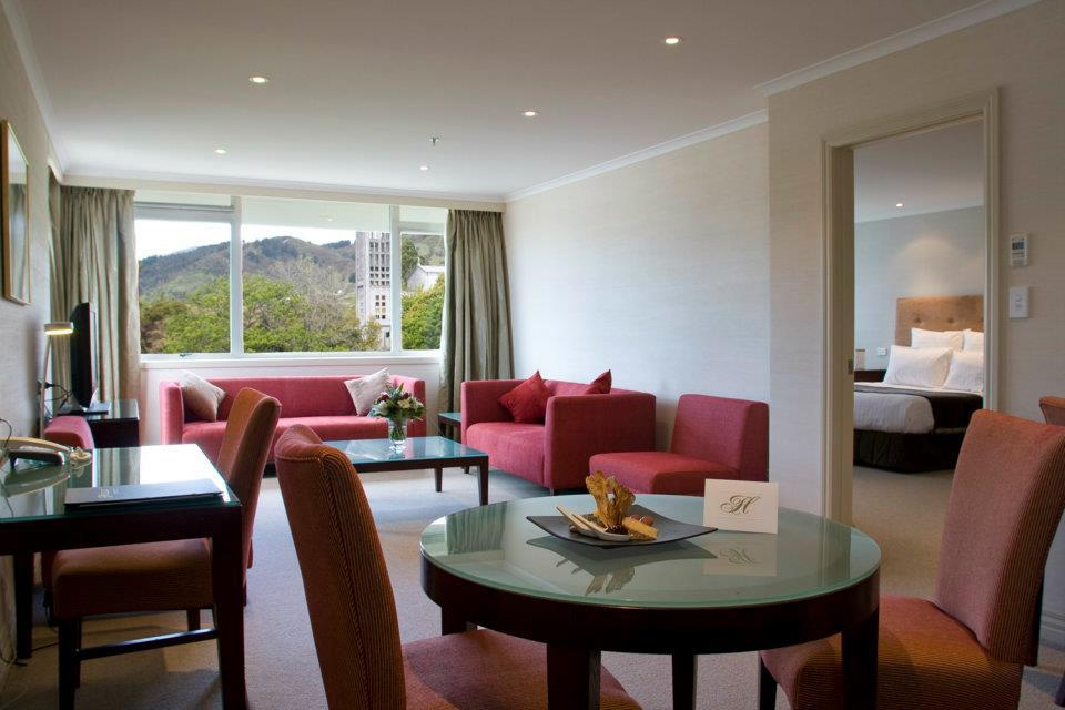 Suite, Rutherford Hotel, Nelson, Neuseeland Reise