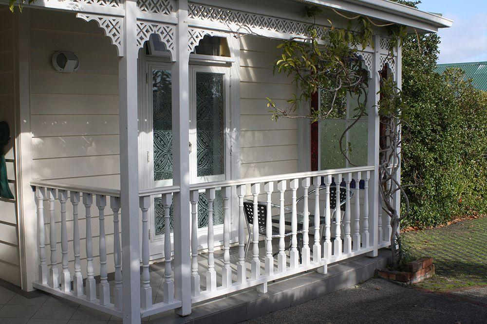 Neuseeland Reise, Auckland, The Great Ponsonby Arthotel, private Terrasse