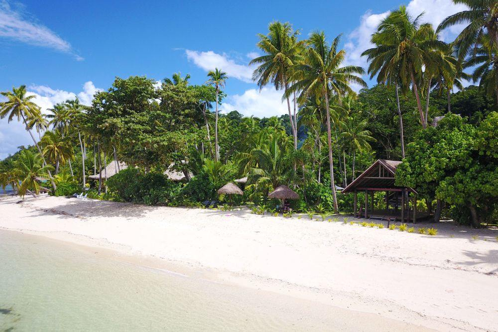 Strand, Qamea Resort & Spa Fiji, Südsee Rundreise