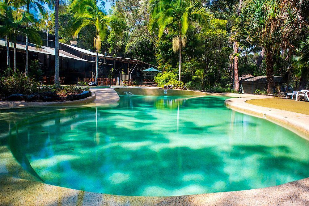 Pool, Kingfisher Bay Resort, Fraser Island, Australien Reise