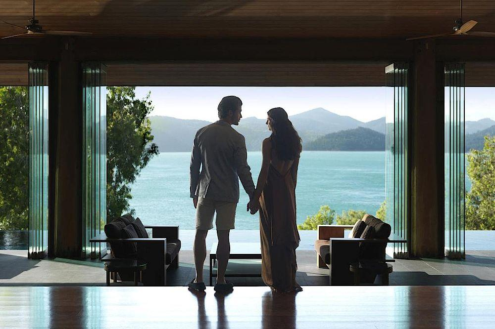 Aussicht, Qualia, Luxury Resort, Whitsundays, Australien Rundreise