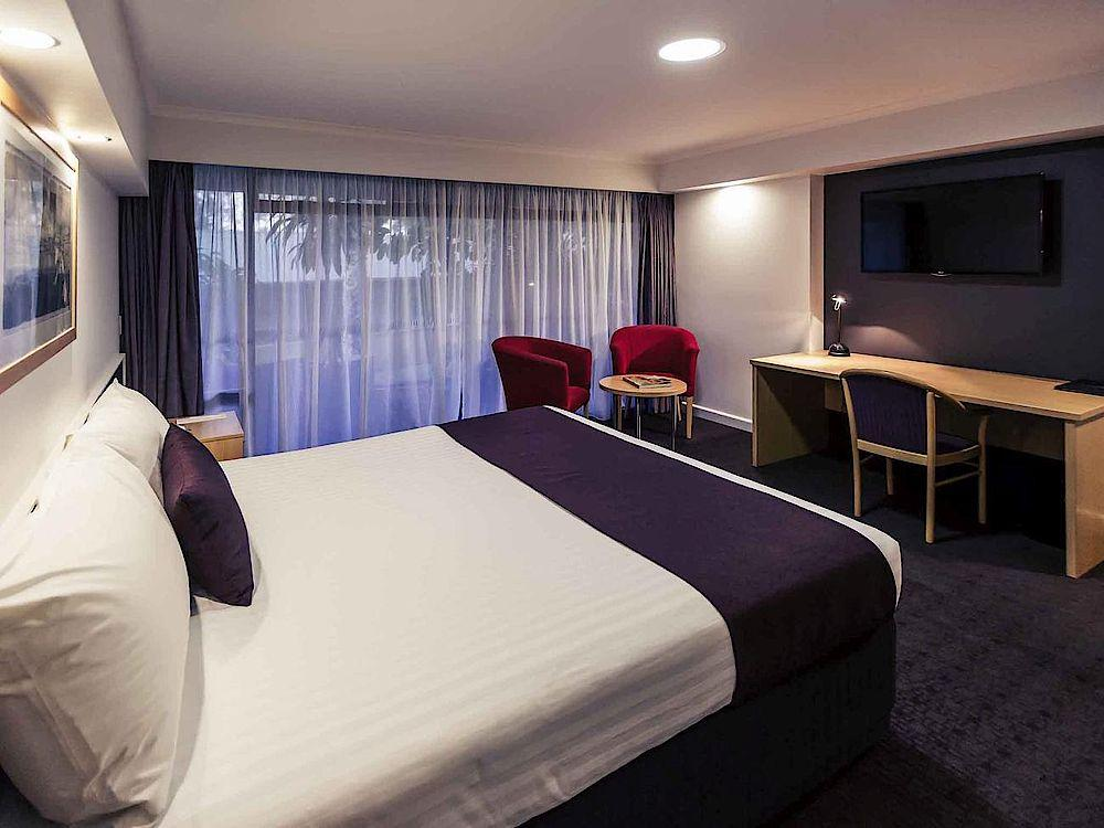 Schlafzimmer, Mercure Alice Springs Resort, Australien Rundreise
