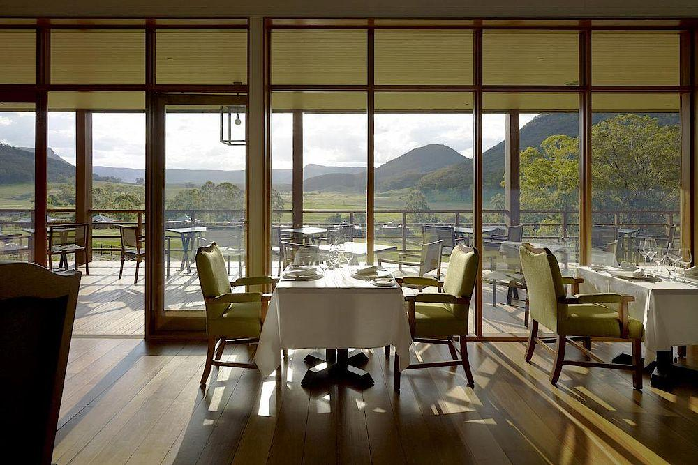 Restaurant, Emirates One & Only Wolgan Valley, Australien Rundreise