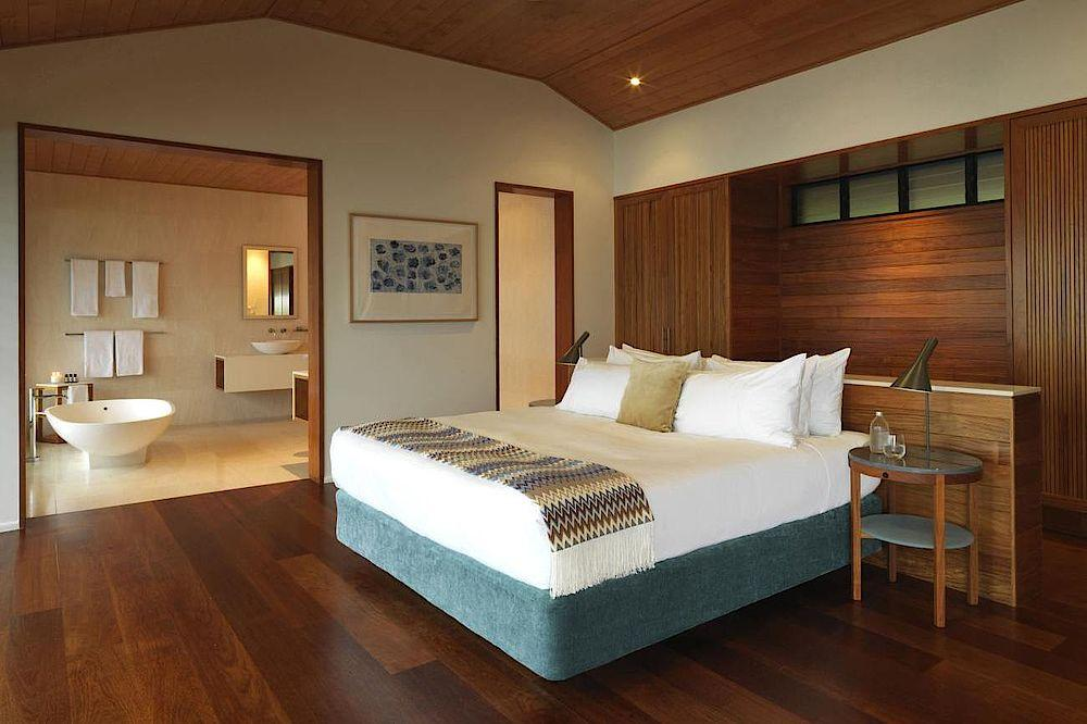 Schlafzimmer, Qualia, Luxury Resort, Whitsundays, Australien Rundreise