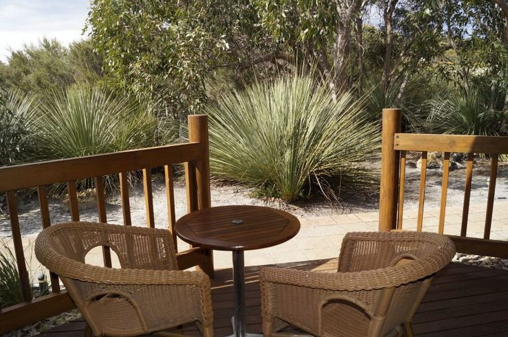 Veranda, Kangaroo Island Wilderness Retreat, Hotel in Flinders Chase, Australien Rundreise