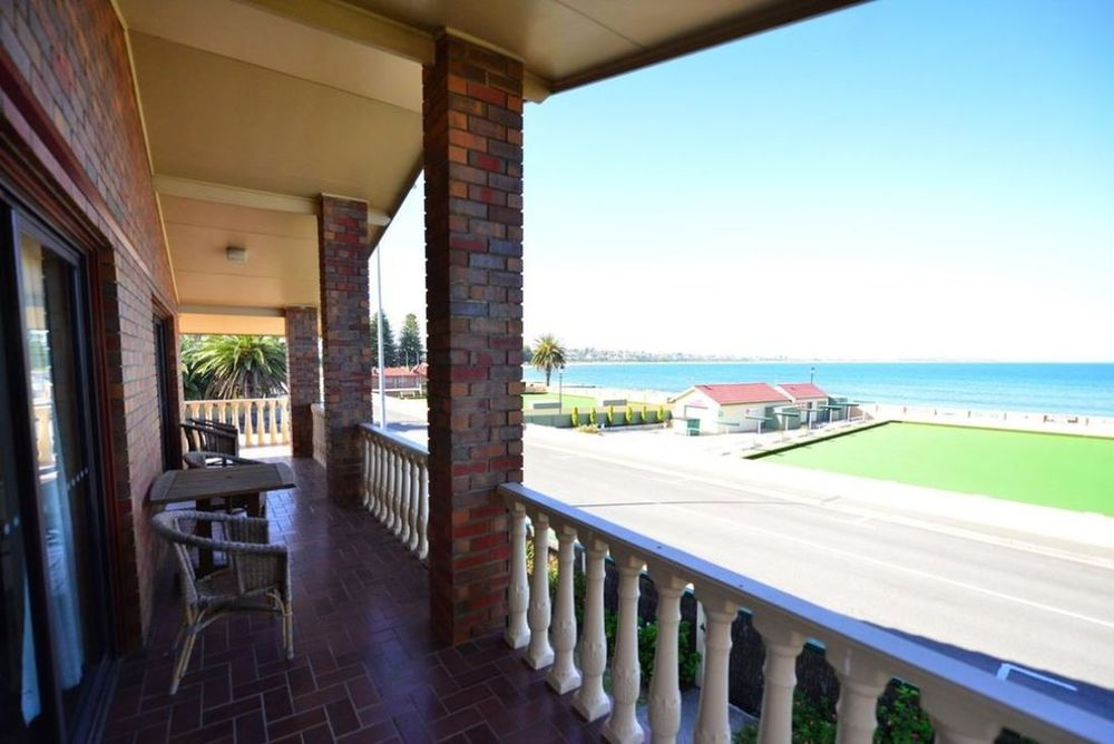 Veranda, Anchorage Hotel, Victor Harbour, Australien Rundreise