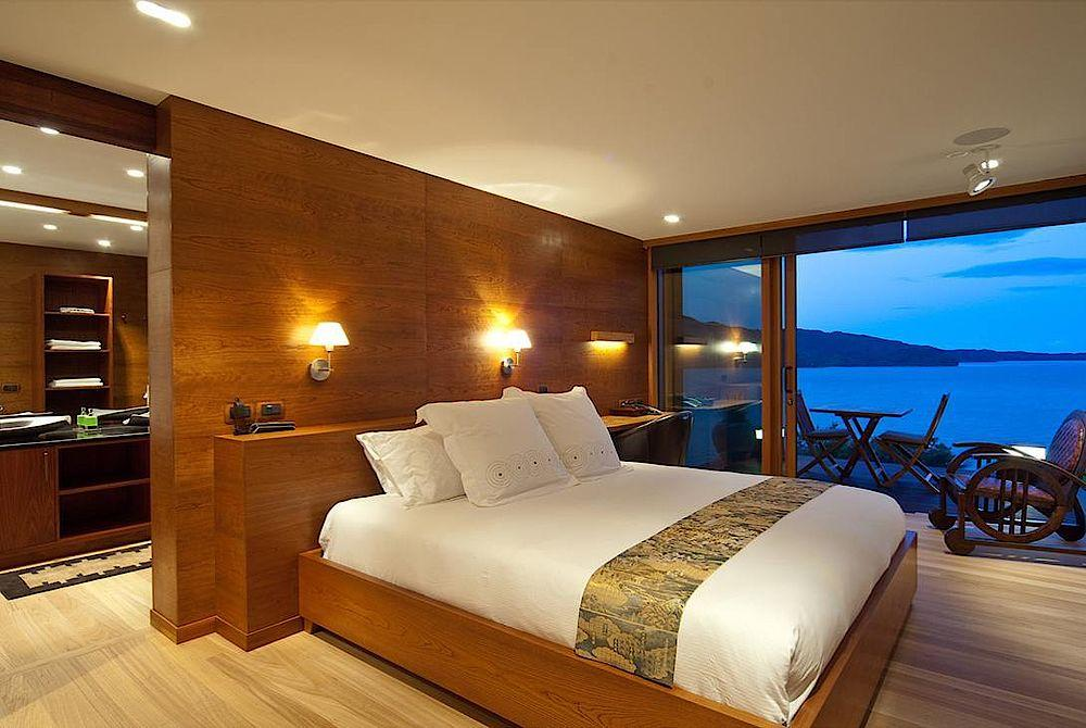 Schlafzimmer, Split Apple Reatreat, Kaiteriteri, Neuseeland Rundreise