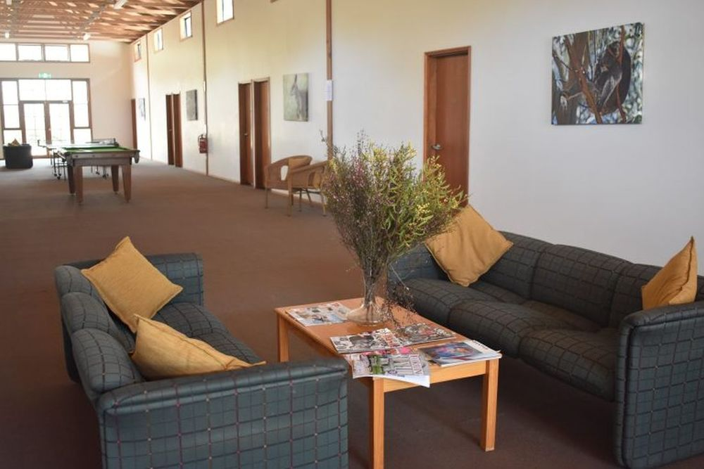 Lobby, Kangaroo Island Wilderness Retreat, Hotel in Flinders Chase, Australien Rundreise