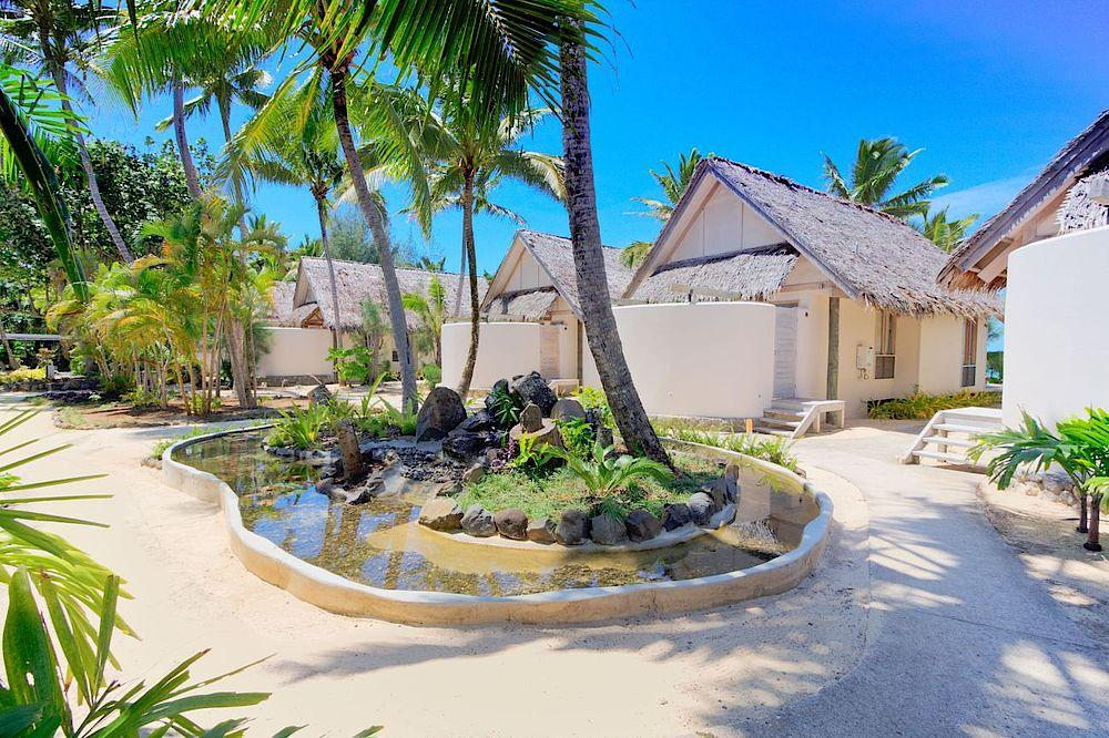 Villen, Little Polynesian Resort, Cook Islands, Südsee Reise