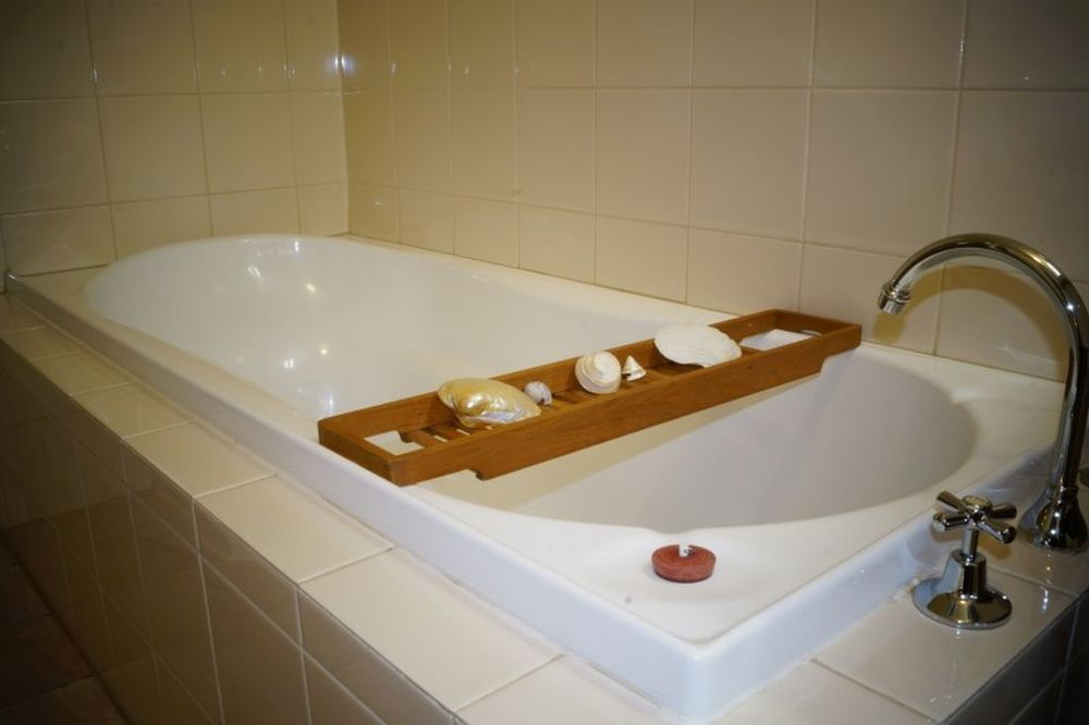 Badewanne, Kangaroo Island Wilderness Retreat, Hotel in Flinders Chase, Australien Rundreise