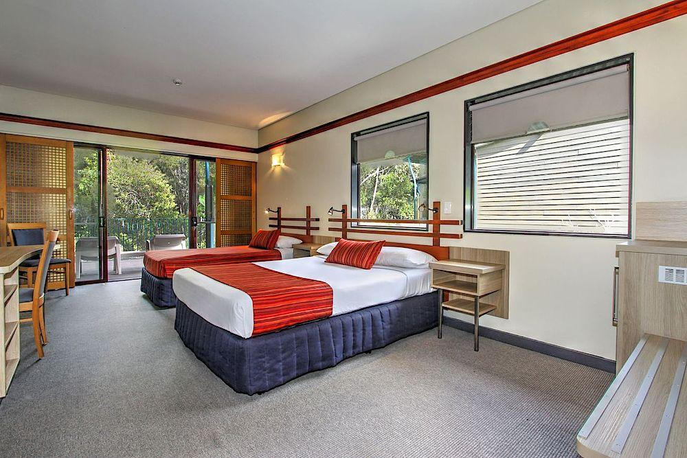 Twin Bed Zimmer, Kingfisher Bay Resort, Fraser Island, Australien Reis