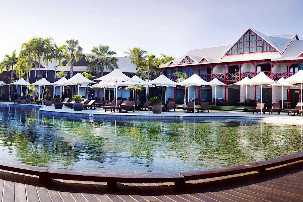 Poolbereich, Cable Beach Resort & Spa, Broome, Australien Rundreise
