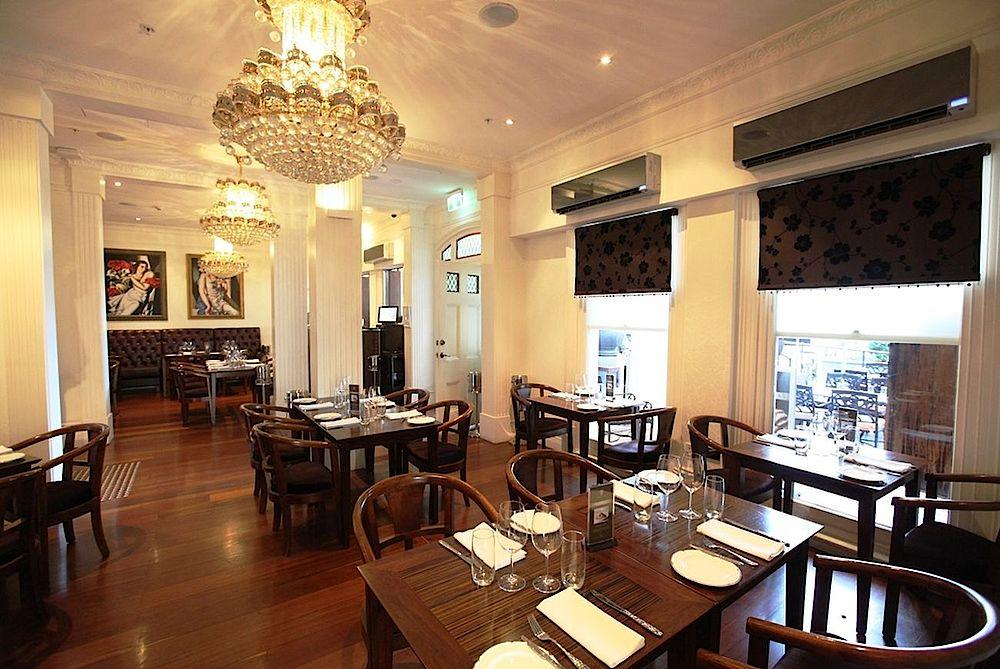 Speisesaal, The Terrace Hotel, Perth, Australien Rundreise