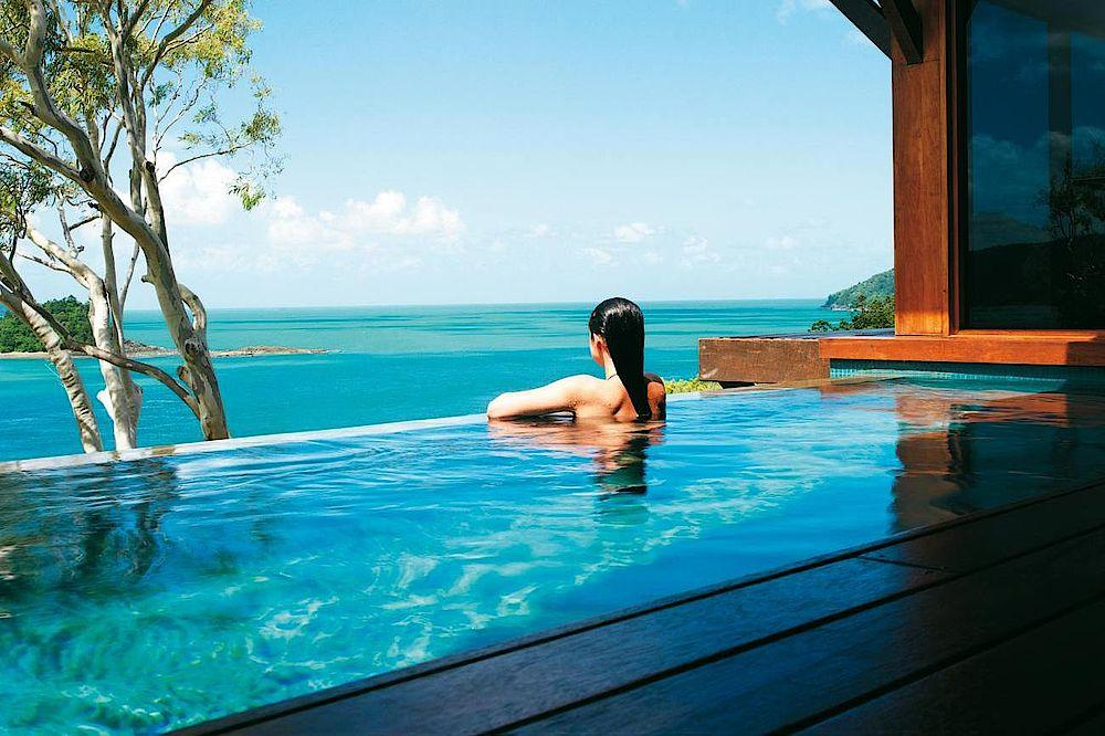 Pool, Qualia, Luxury Resort, Whitsundays, Australien Rundreise