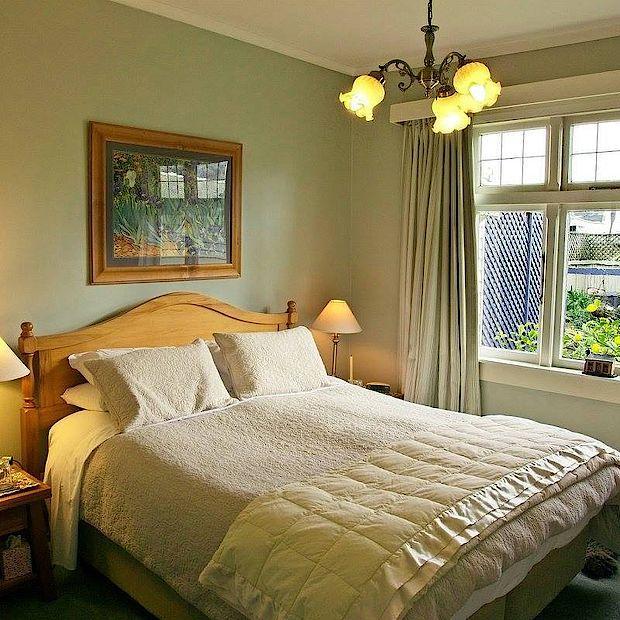 Schlafzimmer, Teichelmannu0027s Bed U0026 Breakfast, Hokitika, Neuseeland Rundreise