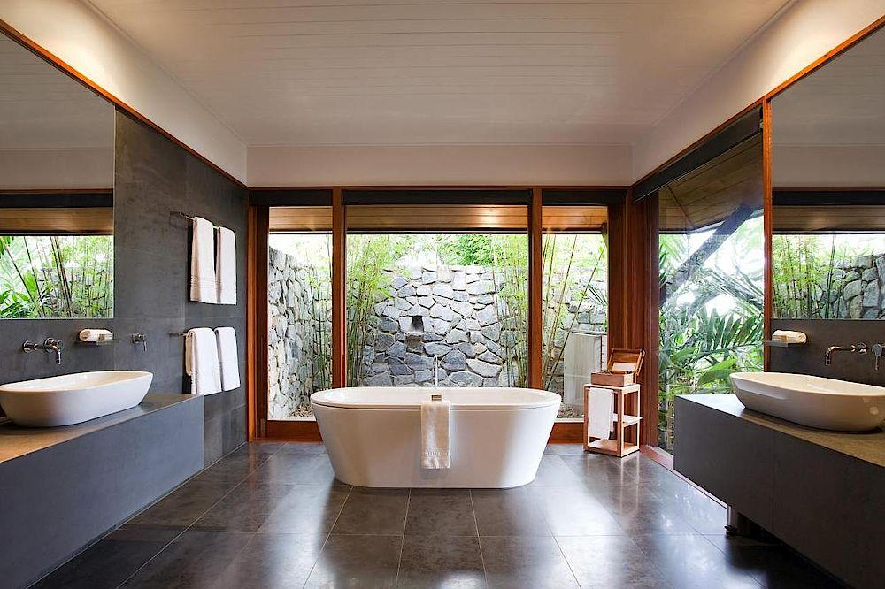Badezimmer, Qualia, Luxury Resort, Whitsundays, Australien Rundreise